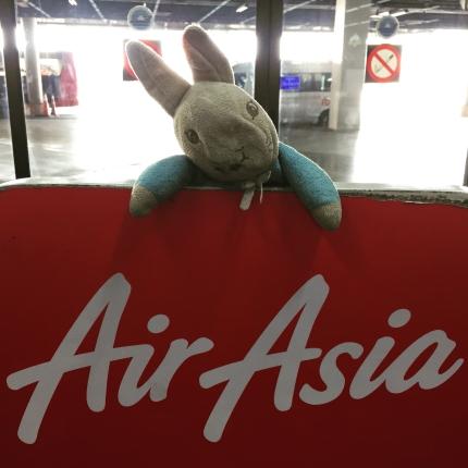 Peter Rabbit_Flying from Bangkok to Luang Prabang