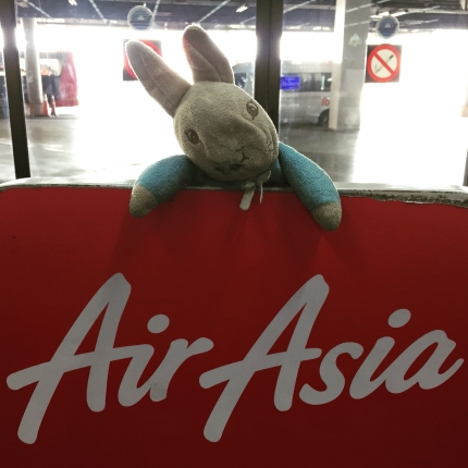 Peter Rabbit_Flying from Bangkok to Luang Prabang
