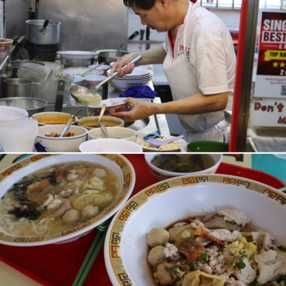 Pork Mince Noodles
