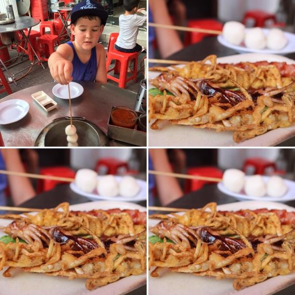 BBQ Sticks @ Chinatown