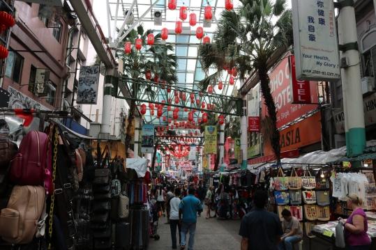 Chinatown stalls