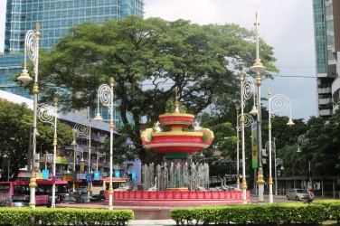 Little India Fountain