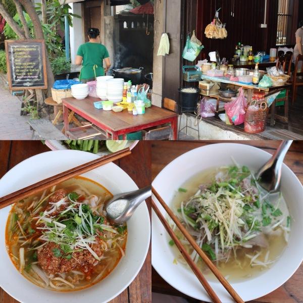 Noodle Spot next to Villa Senesouk_Luang Prabang