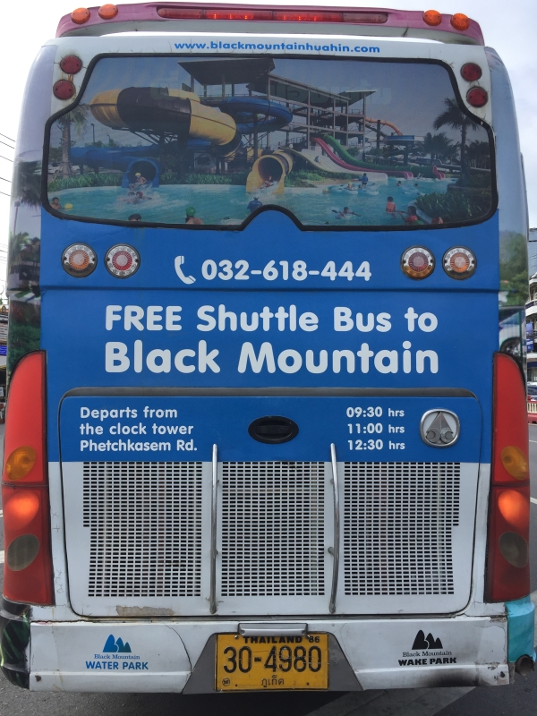Hua Hin_Black Mountain Shuttle Bus