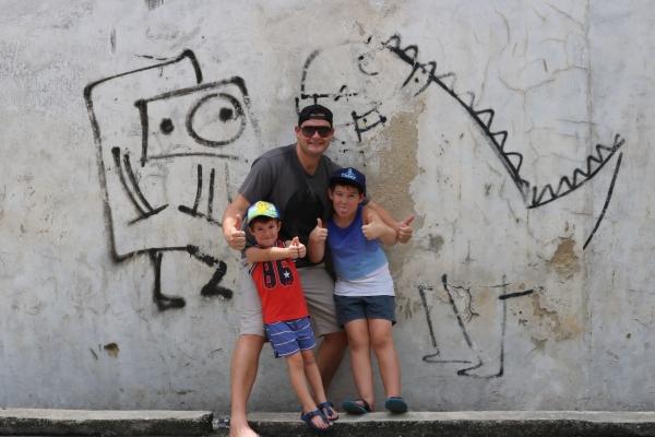 Street Art - Penang, Malaysia