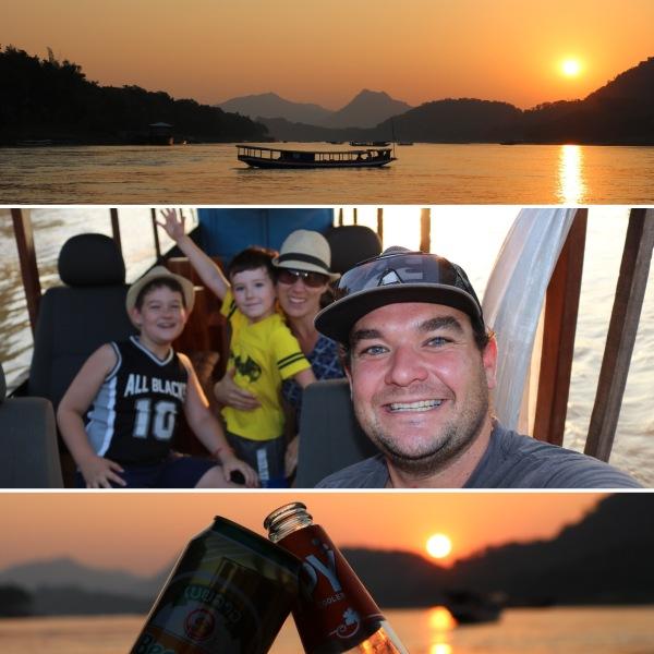 Sunset Cruise on the Mekong Delta_Luang Prabang