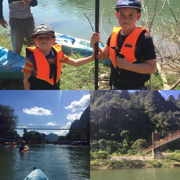 Vang Vieng_Laos_Kayaking
