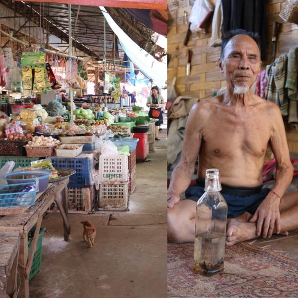 Meuang Fuang Market & Ban Namon_Laos