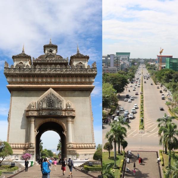 Patuxai_Victory Gate_Vientiane_Laos