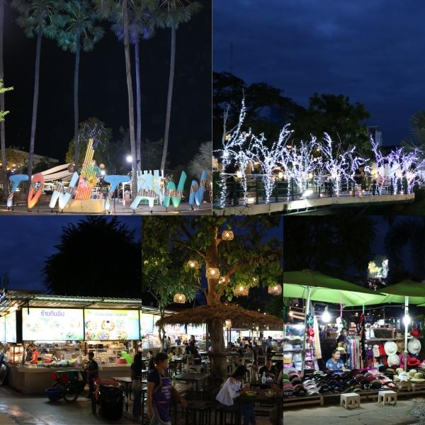 Ton Tann Night Market_Khon Kaen_Thailand