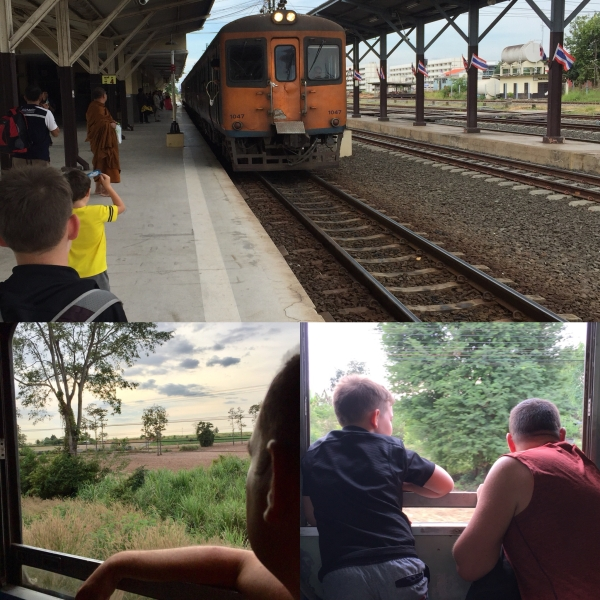 Train Trip_Udon Thani to Khon Kaen_Thailand
