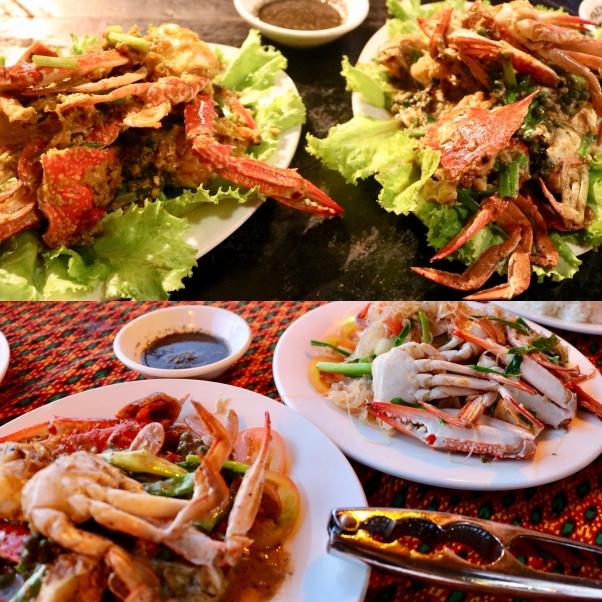 Blue Crab Meals_Crab Markets_Kep_Cambodia