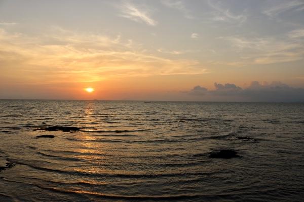 Sunset at Crab Markets_Kep_Cambodia