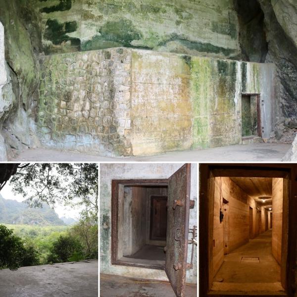 Hospital Cave_Cat Ba Island_Vietnam