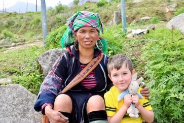 PR tekking in Sapa_Vietnam