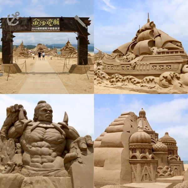 International Sand Sculpture Festival_Fulong Beach_Taiwan_1