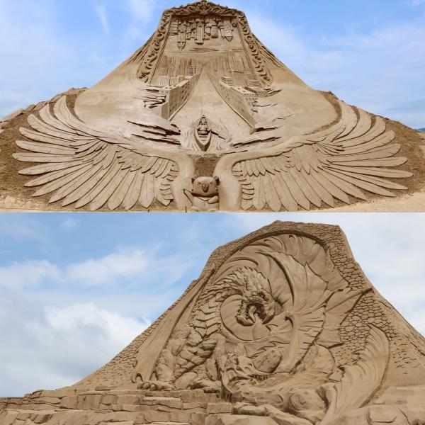 International Sand Sculpture Festival_Fulong Beach_Taiwan_2