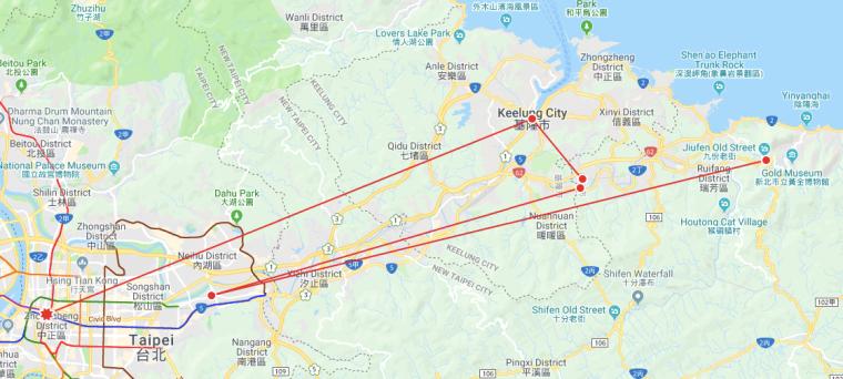 Taipei to Jiufen (the long way)_Taiwan