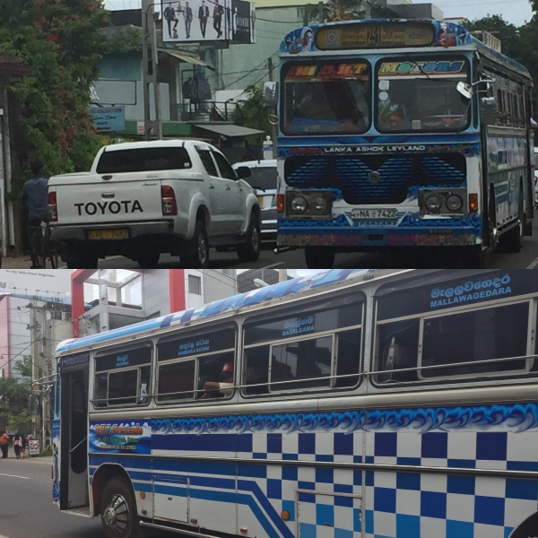 Sri Lanka_Bus Travel