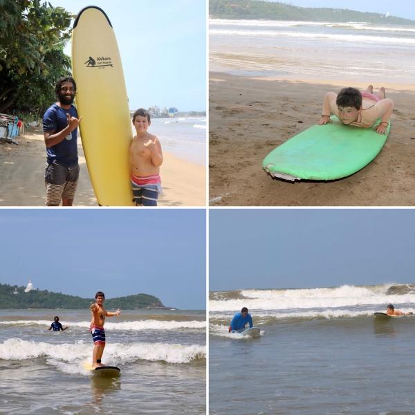Surfing Lessons_Sahana Beach_Sri Lanka