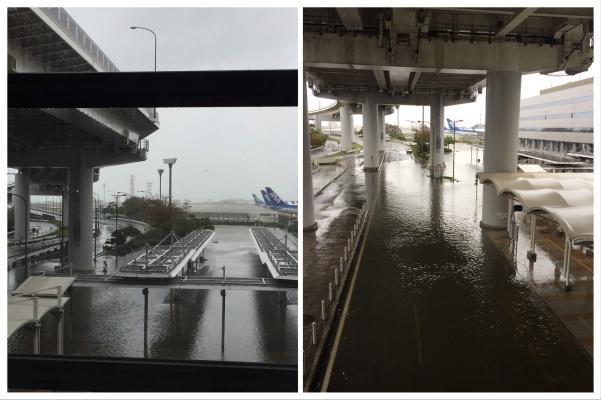 Kansai International Airport_Typhoon Jebi_Sept 4