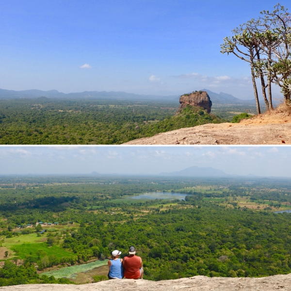 Views from Pidurangala Rock_Sigiriya_Sri Lanka