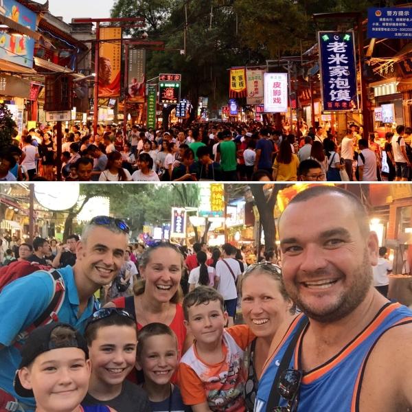Travelling Family Meet Ups_Muslim Quarter_Xian_China