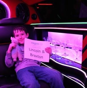 braxton and rabbi in a limo_las vegas_nevada_america