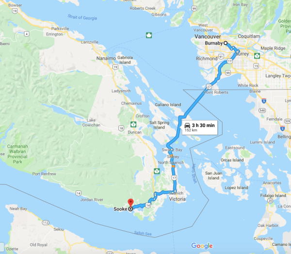 burnaby to sooke_bc_canada
