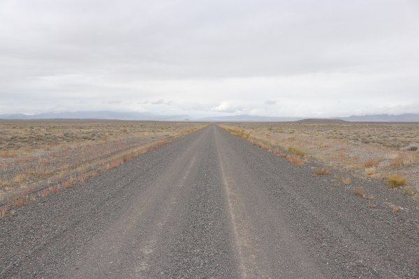 Heading to U Dig Fossils_Utah_America