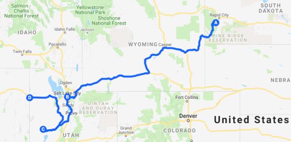 Roadtrip Map 2