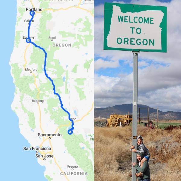 Roadtrip Map 4_Oregon_America