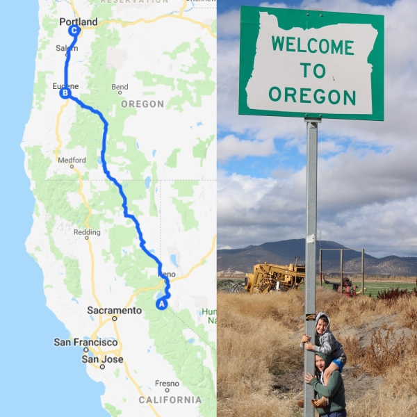 Roadtrip Map 4_Oregon_America