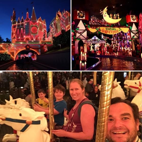 Disneyland at Night_Anaheim_California_America_1