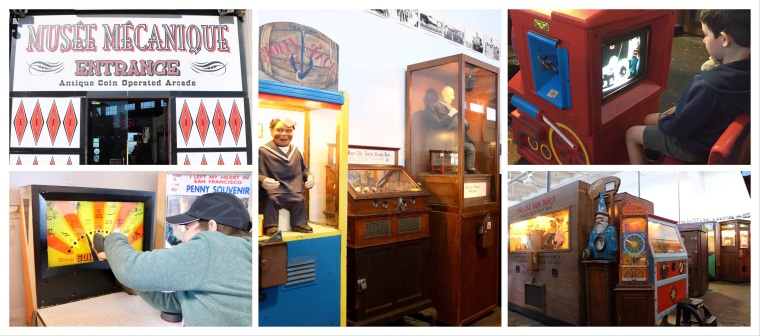 Musée Mécanique Antique Arcade_San Fransisco_California_America
