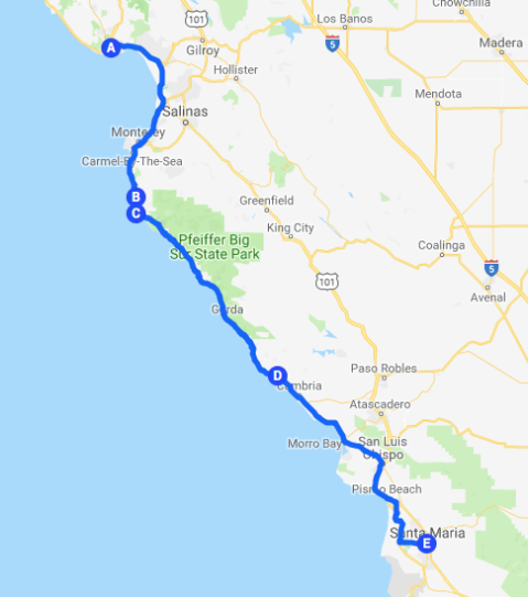 Roadtrip Map 8