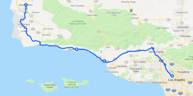 Roadtrip Map 9