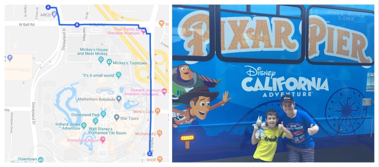 The Bus to Disneyland_Anaheim_California_America