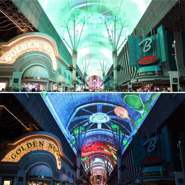 Fremont Street Experience_Las Vegas_Nevada_America