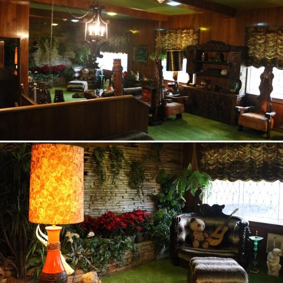 Jungle Room_Elvis' Graceland_Memphis_Tennessee