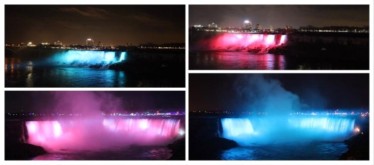 Niagara Falls At Night_Ontario_Canada
