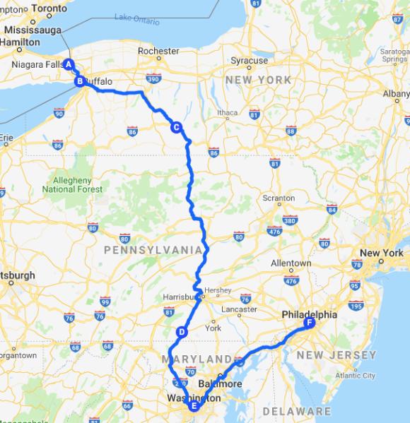 Roadtrip Map 14