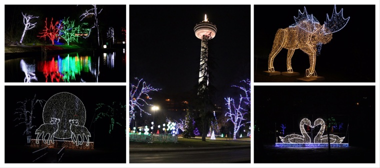 Winter Festival of Lights_Niagara Falls_Ontario_Canada