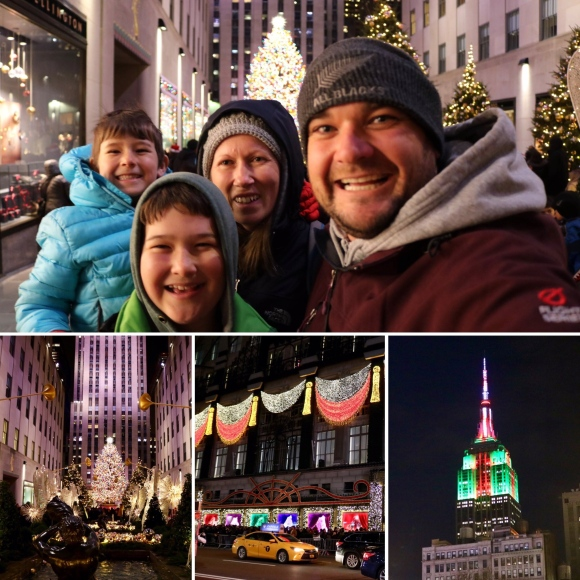 Christmas Eve in New York City_New York_America