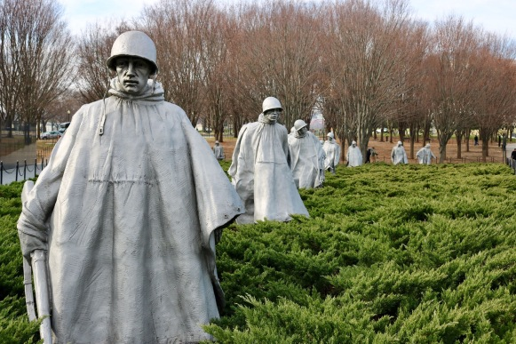 Korean War Veterans Memorial_Washinton DC_America