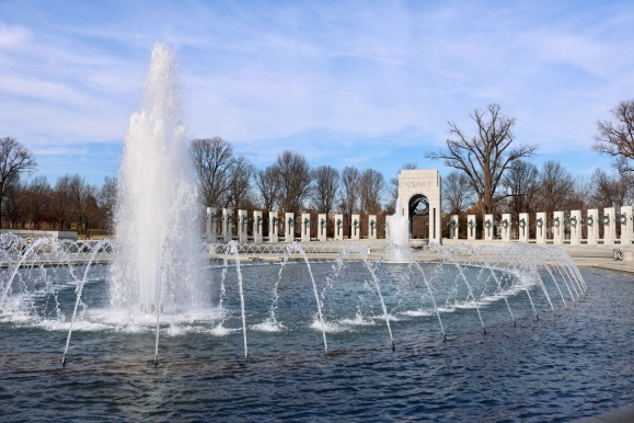 The World War II Memorial_Washinton DC_America