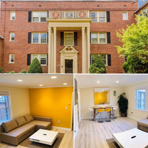 Warm and Welcoming DC Condo_Washington D.C_America_1
