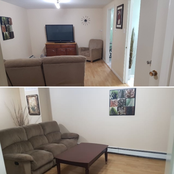 Cozy Two Bedroom Private Apartment_Moncton_New Brunswick_Canada
