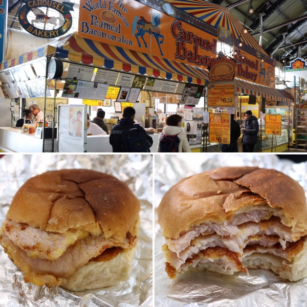 Peameal Bacon Sandwich_Carousel Bakery_St. Lawrence Market_Toronto_Canada