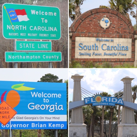 Four States in One Day_America